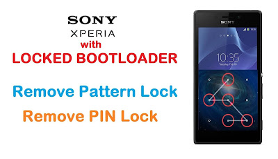 حذف النمط و كلمة السر لجهاز Sony Xperia M5 Dual E5643