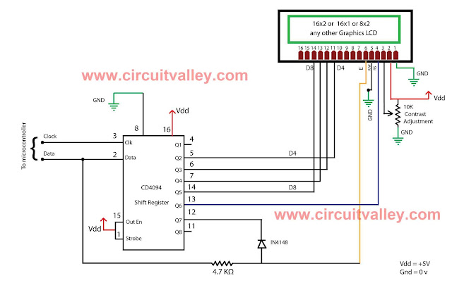 16x2 Serial LCD  (Two Wire) with PIC12F675 11