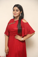 Poorna in Maroon Dress at Rakshasi movie Press meet Cute Pics ~  Exclusive 188.JPG
