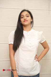 Tollywood Telugu Actress Mouryaani Latest Stills in Ripped Jeans at Intlo Deyyam Nakem Bhayam Movie Interview  0034.JPG