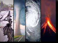 بحث حول الكوارث الطبيعية