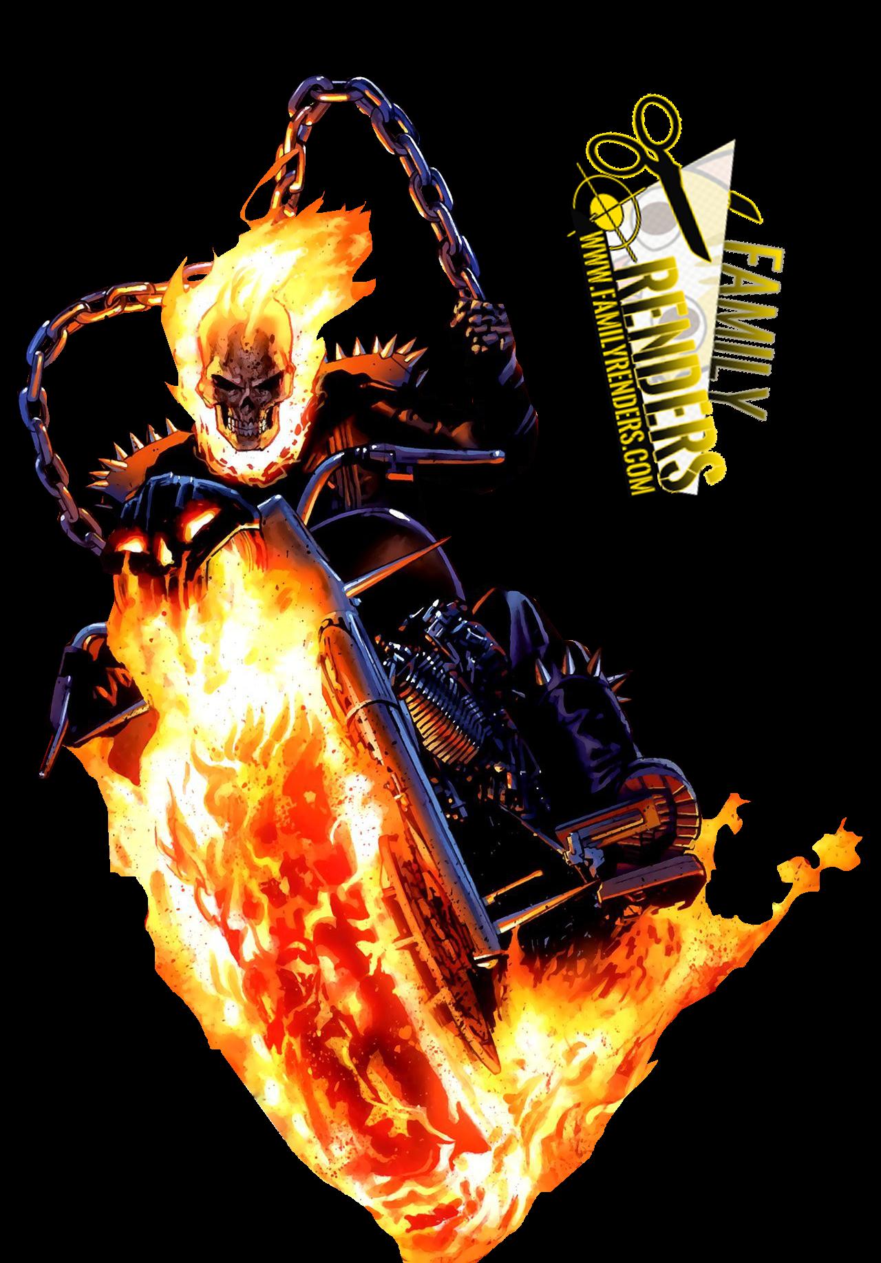 Render Ghost Rider