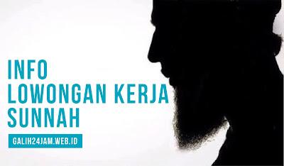 info lowongan kerja muslim sunnah salafi