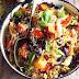Roasted Vegetable And Caramelised Garlic Barley Risotto Recipe