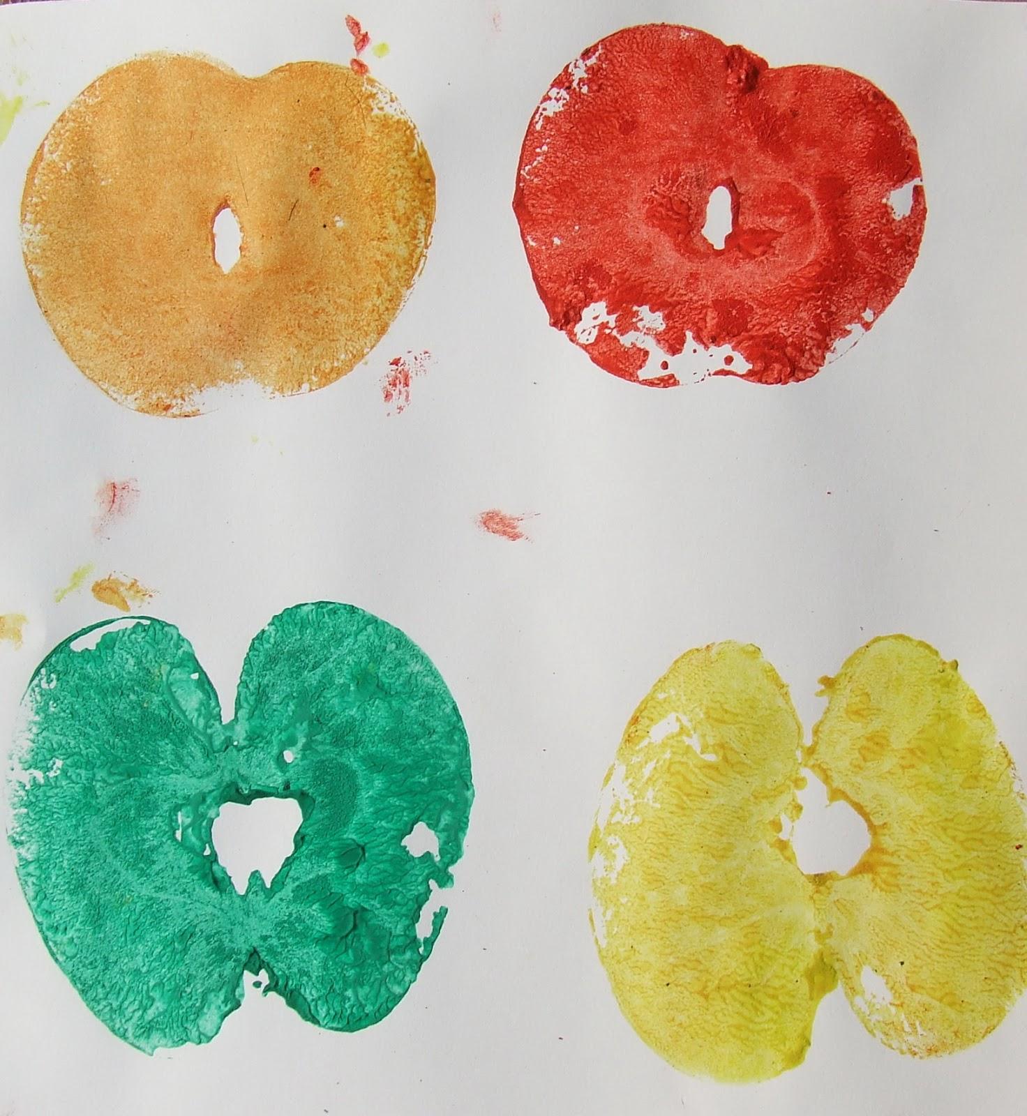alma nyomda - játékötlet gyerekeknek
