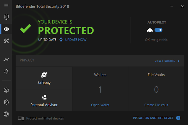 bitdefender total security 2018 review