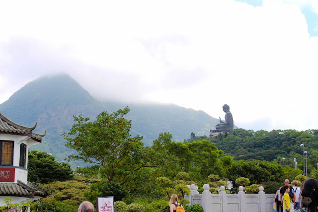 Big Buddha and Ngong Ping Village, Lantau Island