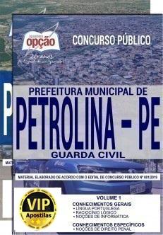 Guarda Civil de Petrolina: Concurso abre 80 vagas!