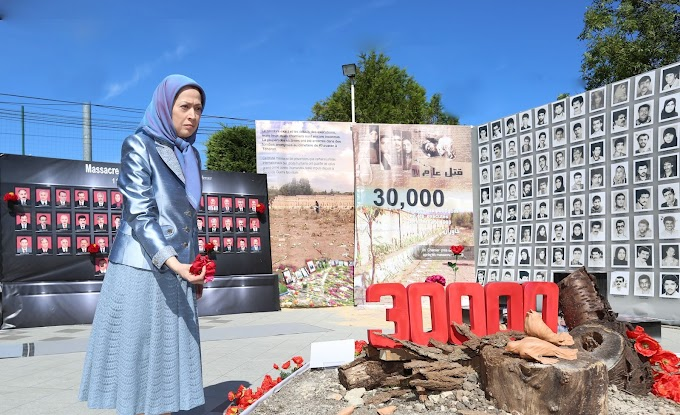 """Freedom for Iran: Iran - Maryam Rajavi: """"Rise and stand up to the po..."""
