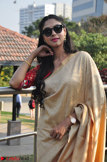 Angana Roy in Silk Saree at Teaching Tree Carnival .xyz 033.JPG