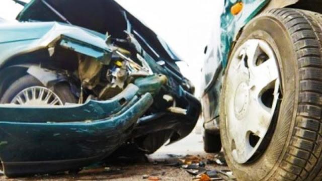 Καραμπόλα έξι οχημάτων στη Μουδανιών