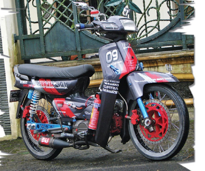 Top motor honda grand modif