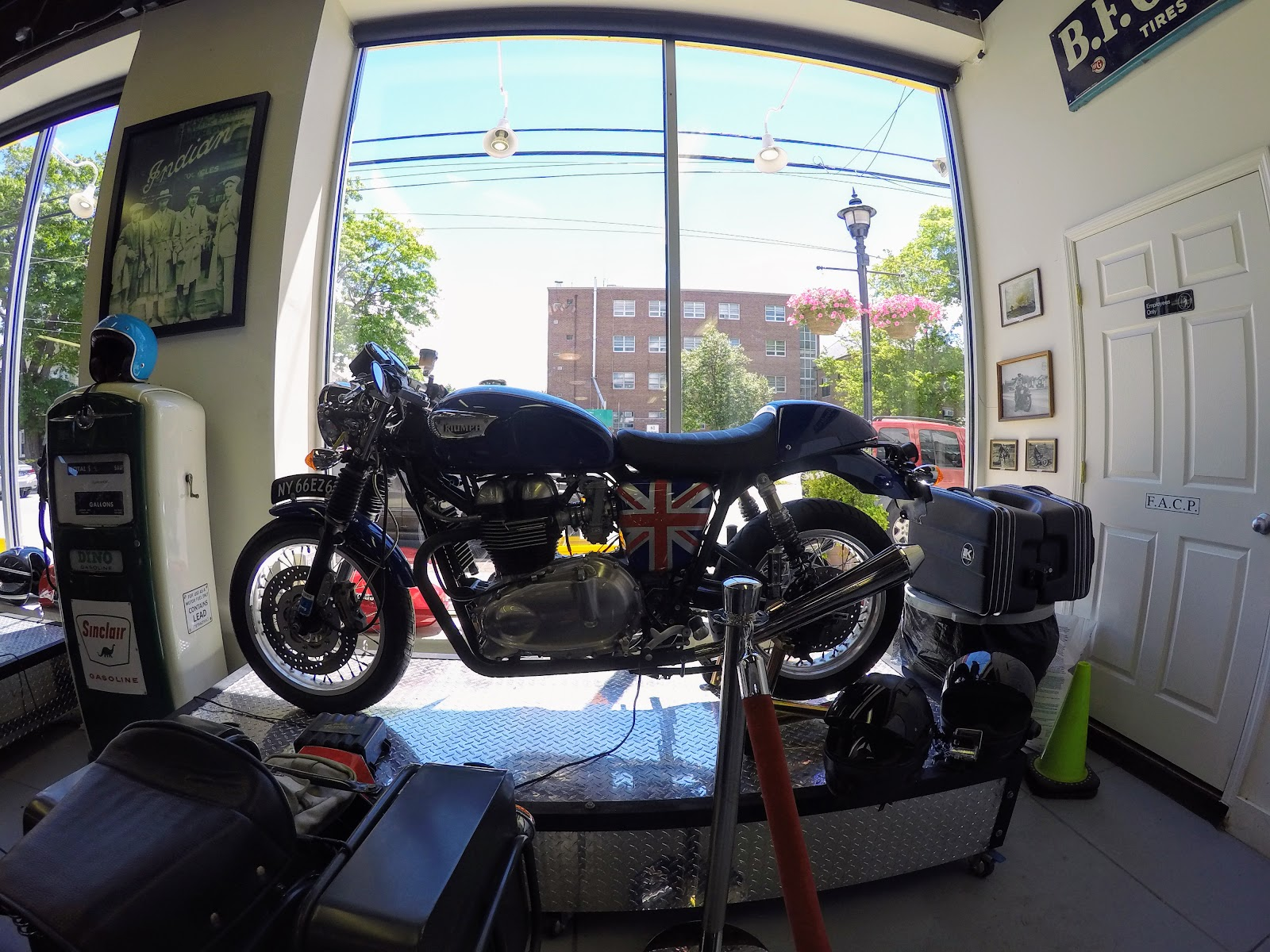 NYDUCATI presents Billy Joel's 20th Century Cycles Triumph Thruxton