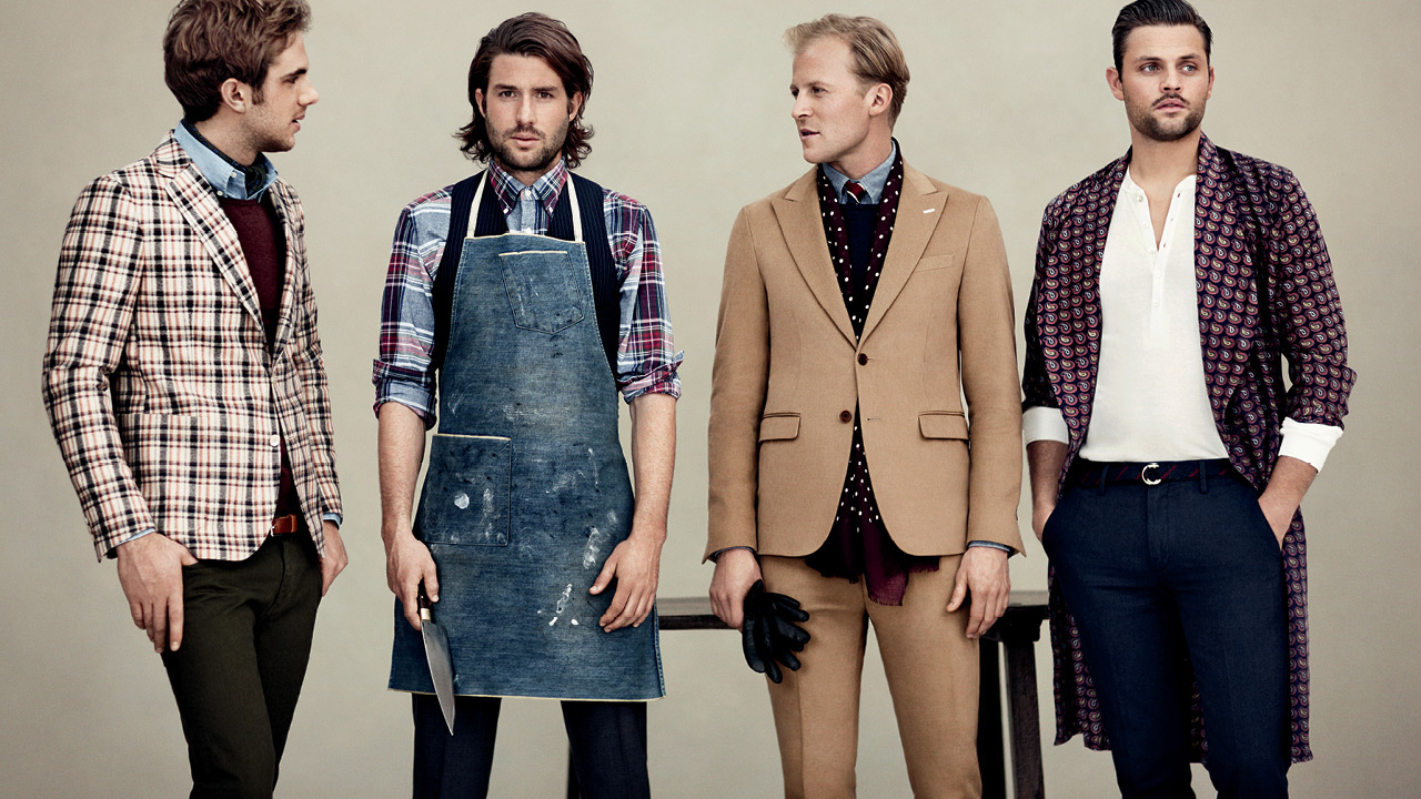 Célèbre COOL CHIC STYLE to dress italian: GANT Rugger FW 2012 Ad Campaign SN73