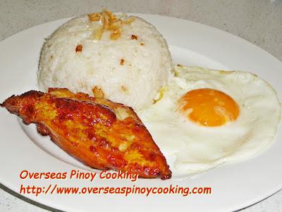 Chicken Tocino Rice