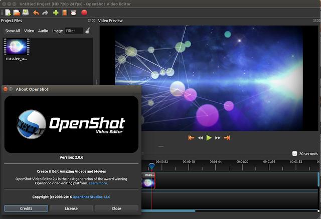Linux开源视频编辑器 OpenShot 2.0.6 (Beta3) 下载