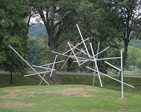Kenneth Snelson, Free Ride Home, 1974.