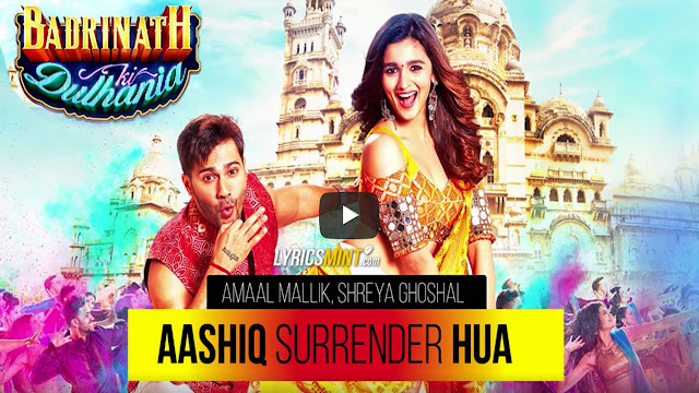 Aashiq Surrender Hua Lyrics Amaal Mallik BNKD