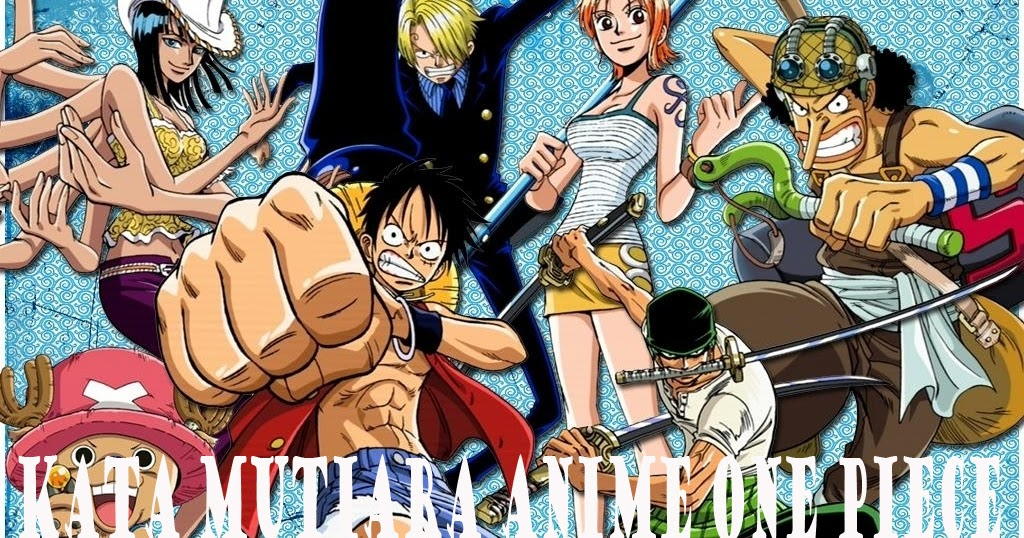 Kata Bijak Mutiara Anime Manga Komik One Piece Warna