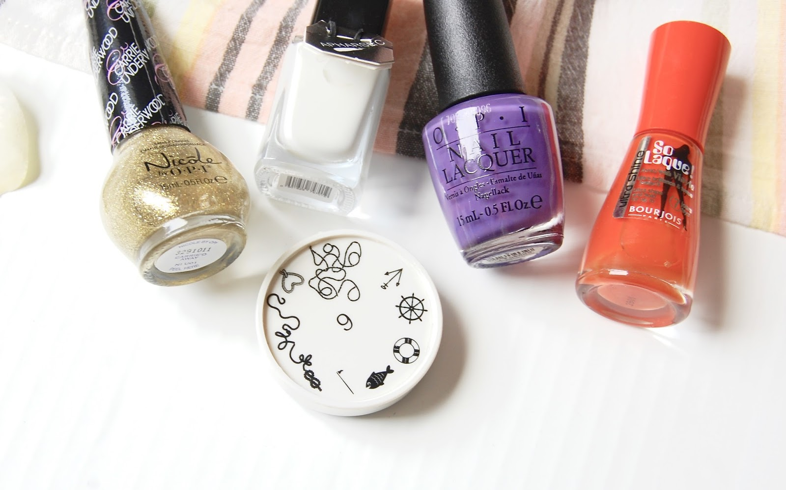 See what I got in my August Nailbox subscription