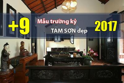 Đừng bỏ lỡ +9 mẫu trường kỷ Tam Sơn đẹp nhất 2017