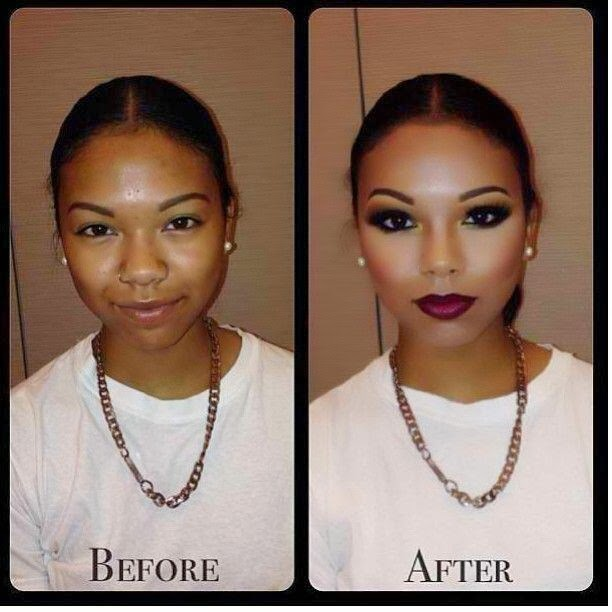Welcome to Diamond Odey's Blog: The Power Of Make-up