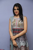 Sakshi Chaudhary Beautiful Emroidery Work Sleeveless Anarkali Dress 056.JPG