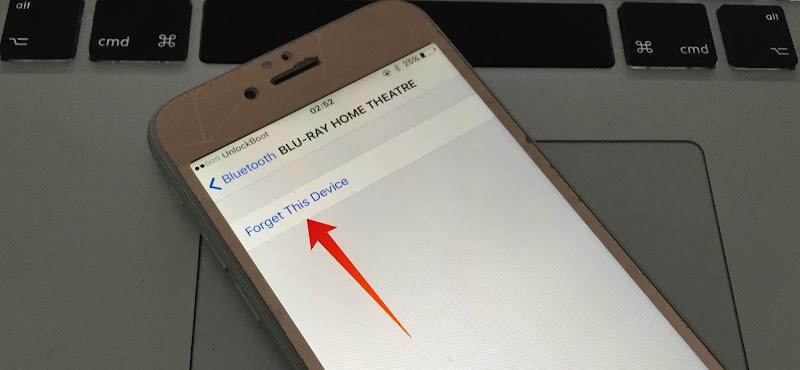 fix iphone bluetooth connection problem