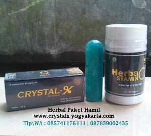 Herbal Paket Hamil dari Nasa