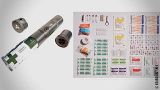VSSL — система многоцелевых капсул со снаряжением для аутдора