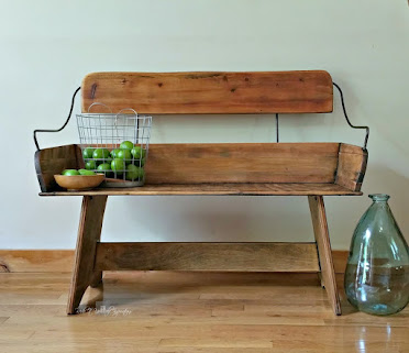 Horse Carriage Bench Makeover