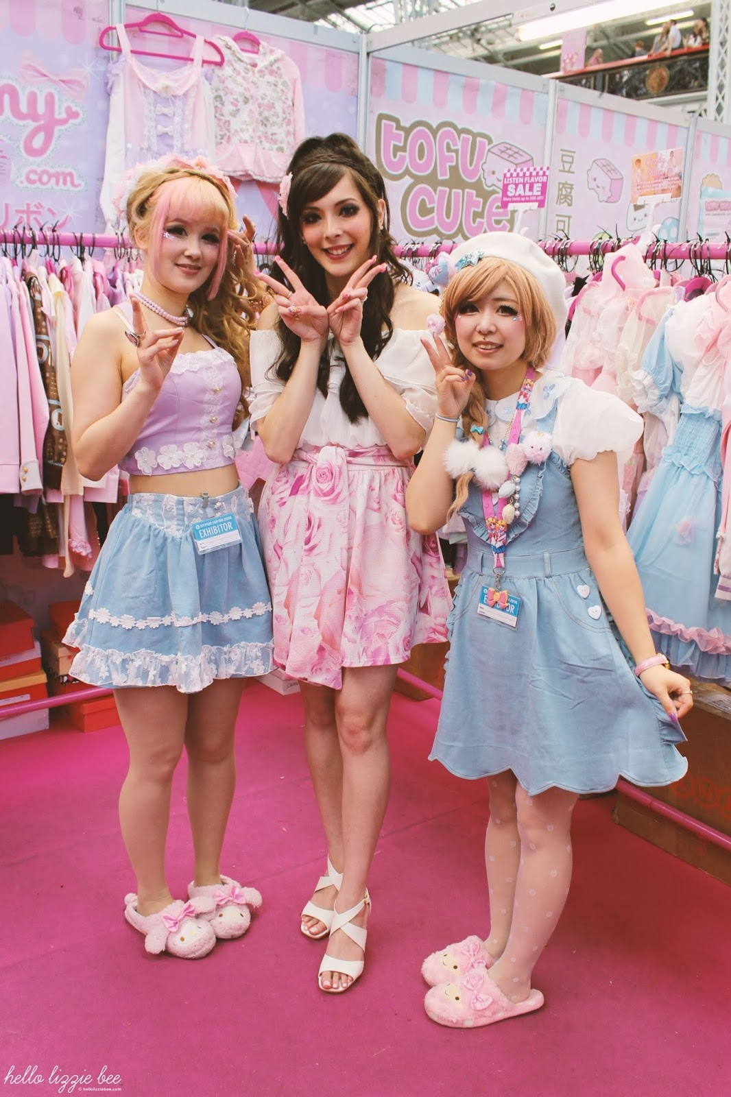 dreamy bows, kawaii fashion