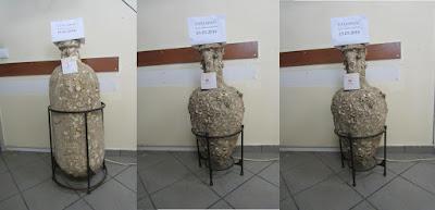 Τα αρχαία που βρέθηκαν στο σπίτι 43χρονου στη Χαλκίδα