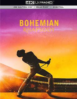 Bohemian Rhapsody 4K UHD, Blu-Ray, Digital