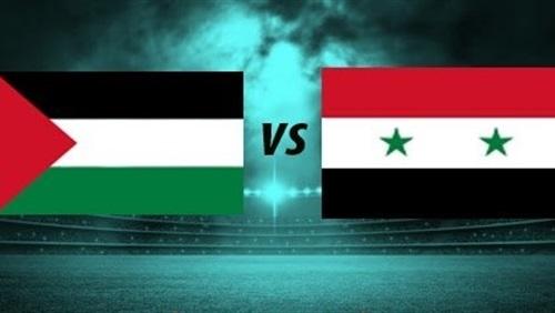 موعد مباراة فلسطين وسوريا في كأس اسيا 6-1-2019