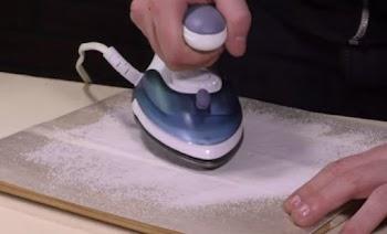 Απίστευτο: Σιδερώνει το αλάτι – Δείτε τι πετυχαίνει! (vid)