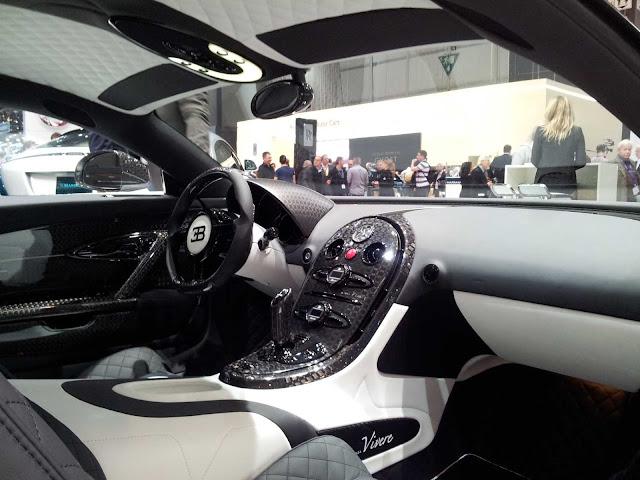 Mansory Bugatti Vivere 2015 in Genf