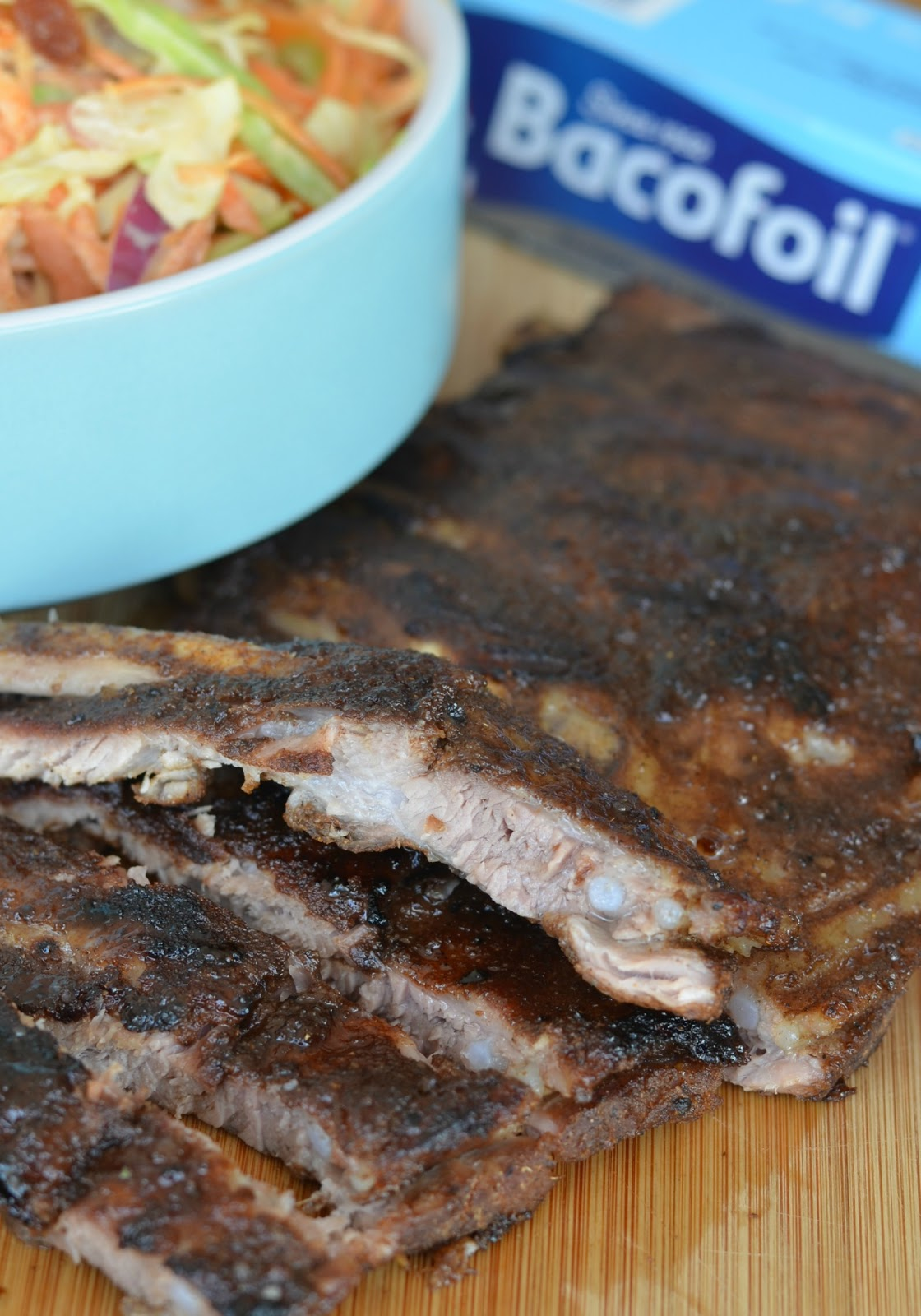 BBQ Indian Spiced Ribs with Sticky Ginger Glaze