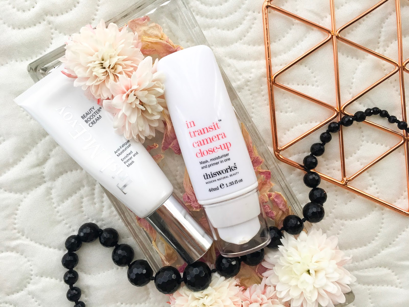 best hydrating primers for winter, this works in transit camera close up primer review, trish mcevoy beauty booster review,