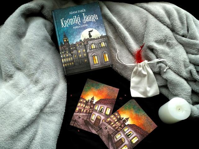 """Londyn, magia i jednorożec, czyli recenzja książki pt.""""Kroniki Jaaru. Księga Luster"""""""