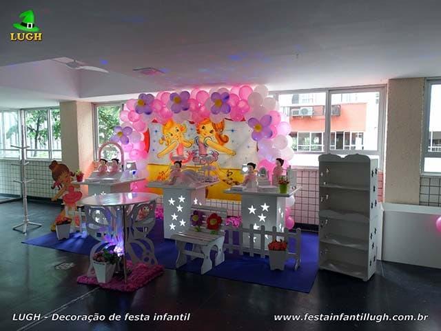 Decoração de aniversário infantil tema Bailarinas, festa feminina - Barra - RJ