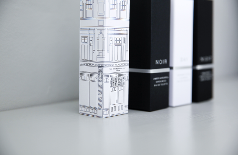 Mother's Day gift guide: day night noir symons eau de toilette perfumes from The White Company review