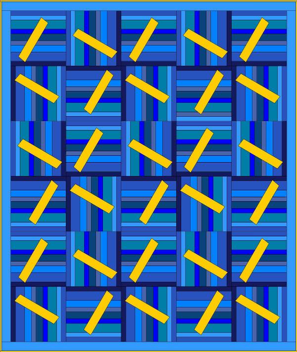 Strippy Pinwheels quilt design | DevotedQuilter.blogspot.com