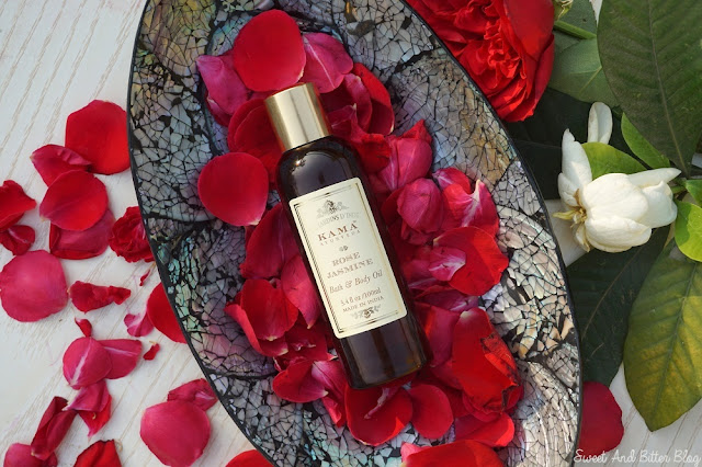 Kama Ayurveda ROSE JASMINE Bath and Body Oil