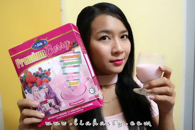 Susu Kambing Premium Berry