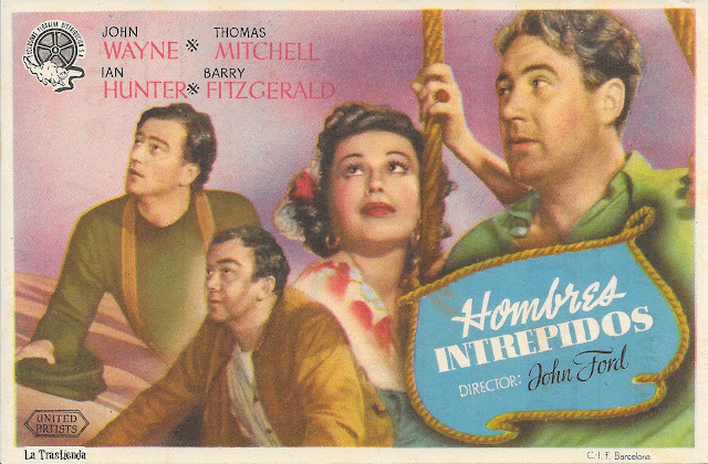 Programa de Cine - Hombres Intrépidos - John Wayne - Thomas Mitchell