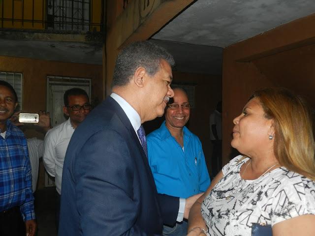 Leonel Fernández en Los Tres Brazos