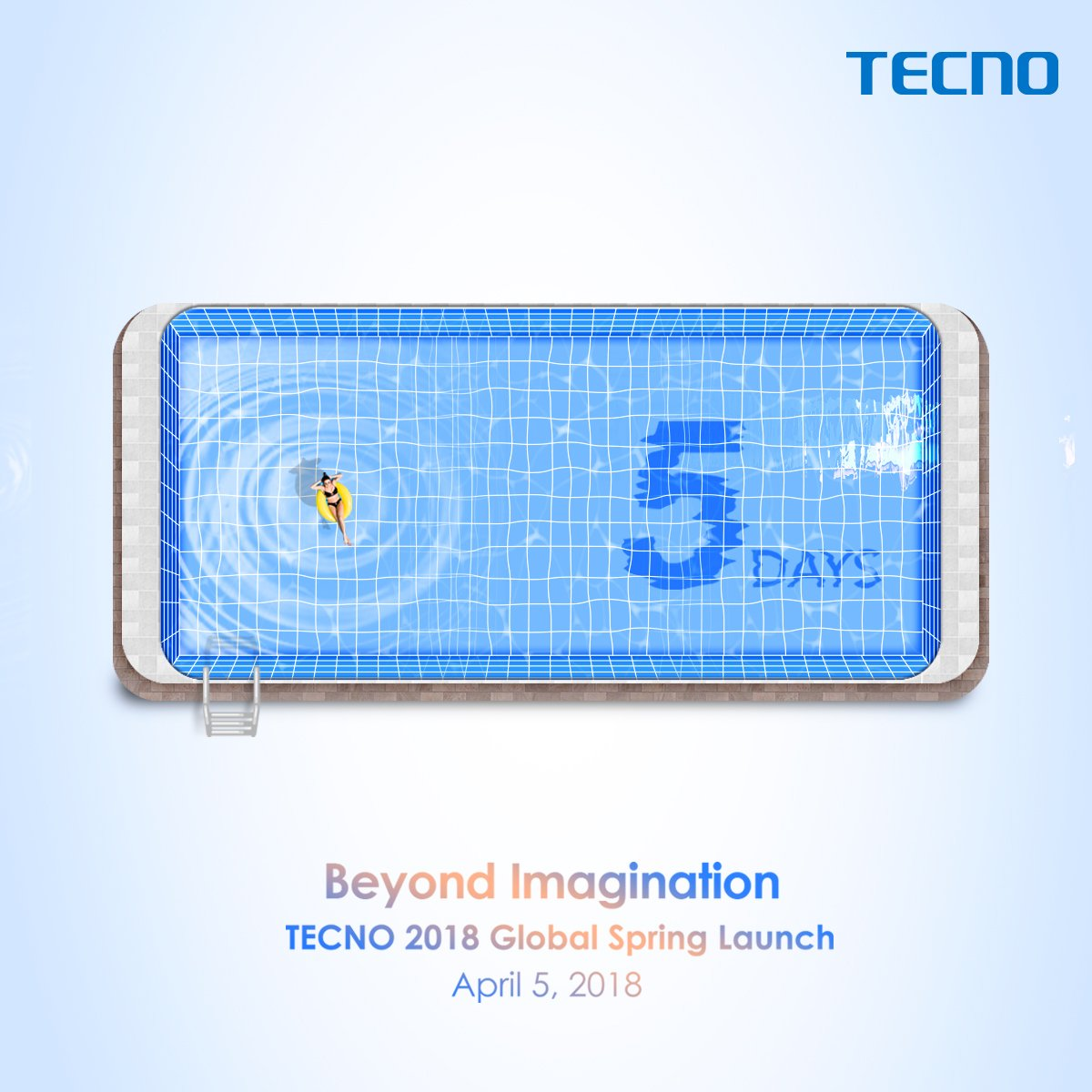 Tecno Camon X Infinity Display In Pool