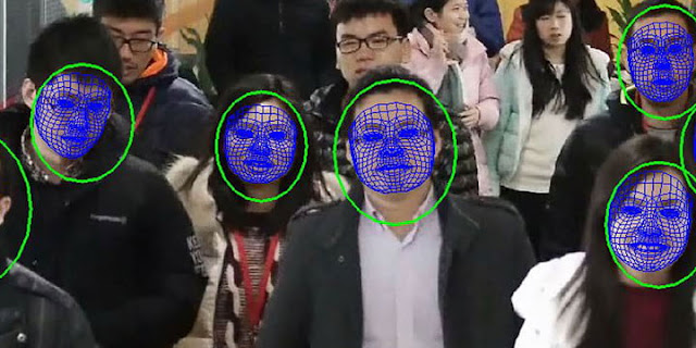 How China Police is using Artificial Intelligence or AI Face Recognition Sunglass to nab the criminals!