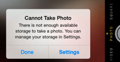 iphone comes insignificant with an internal memory of 16 GB.